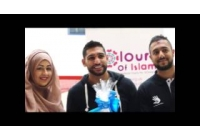 Amir Khan visits Yorkhill hospital 2015
